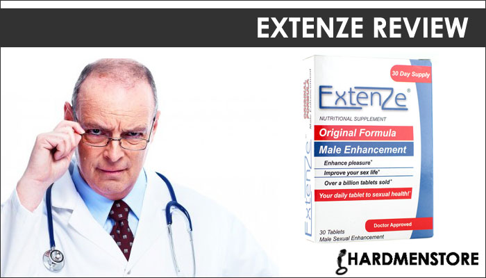 size of  Extenze Male Enhancement Pills