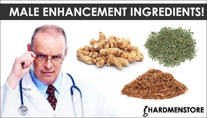 Ingredients in Male enhanceement supplements