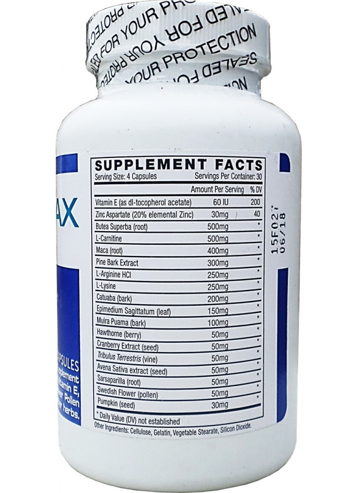 Ingredients of Semenax Pills