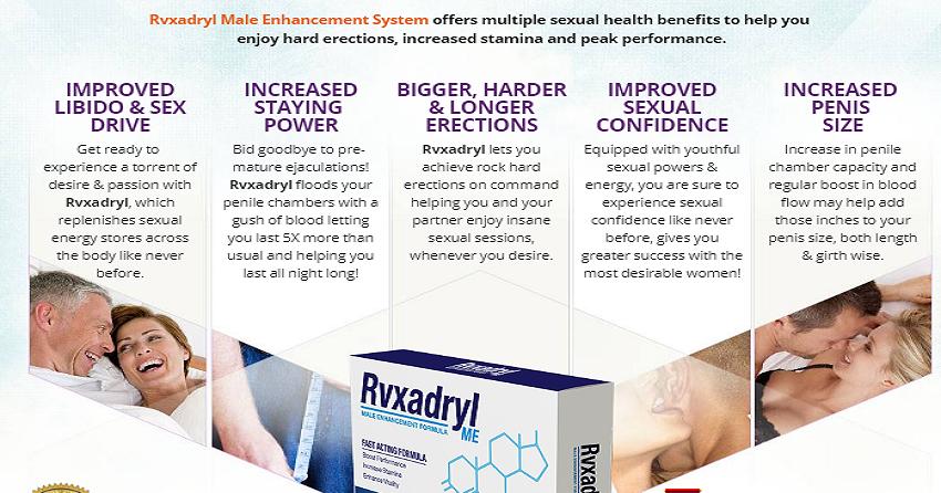 Rvxadryl Male enhancement pills