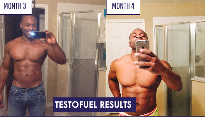 Testofuel before and after results