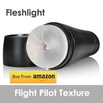Fleshlight | Flight Pilot Texture | Compact Discreet Case