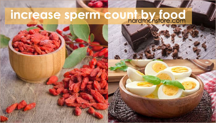 Best foods to increase his sperm count