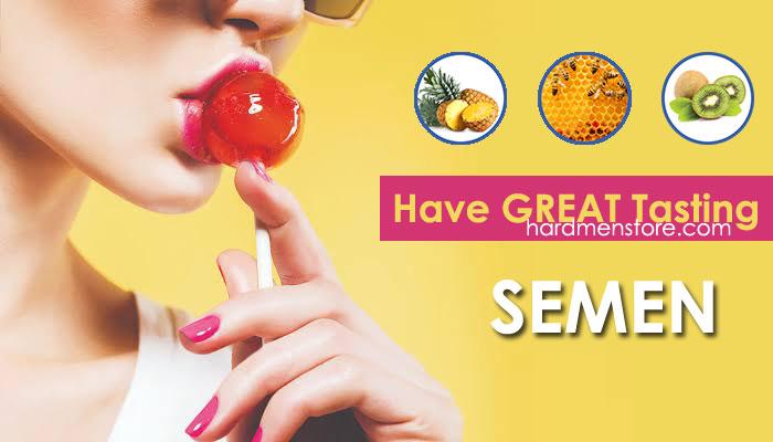 what your semen tastes like