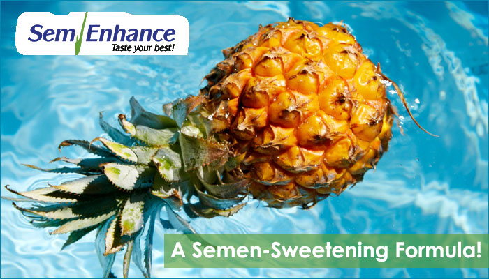 sweeten the taste of semen