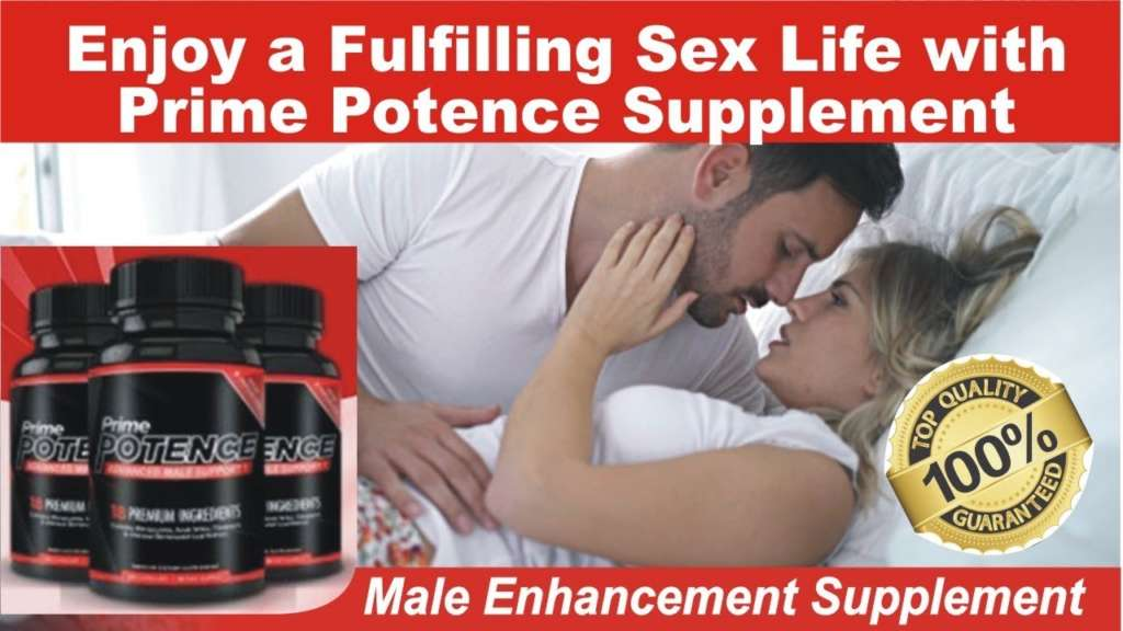 Prime Potence Male Enhancement Supplement