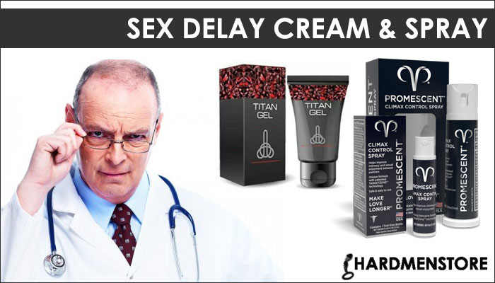 Sex Delay creams and spray