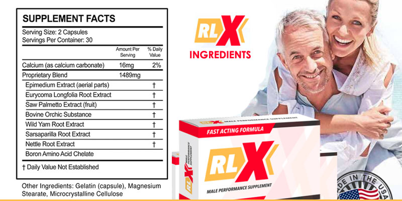rlx male enhancement ingredients