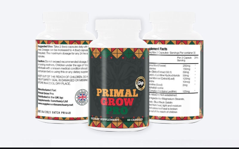 Primal Grow Pro is a revolutionary product that is designed to boost men's bedroom performances