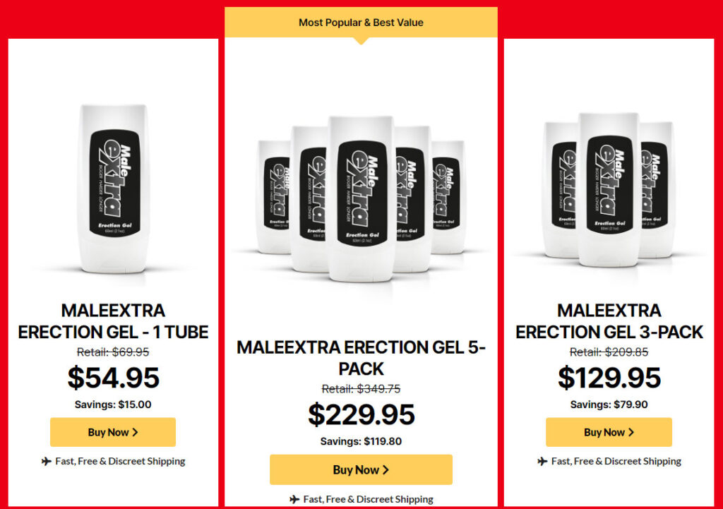 Buy Male Extra Gel