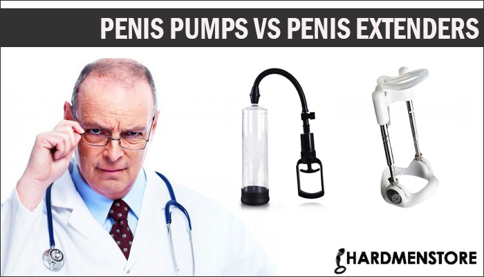 Penis Pumps Vs Penis Extenders
