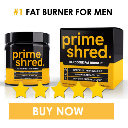 Primeshred - fat burner for men